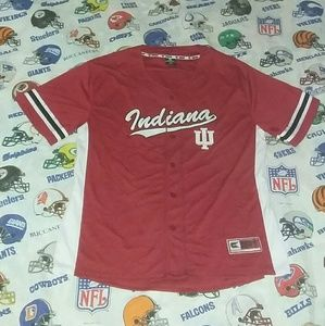 Indiana Hoosiers Authentic Baseball Jersey Vintage